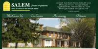 Image of Salem Funerals and Cremations web site